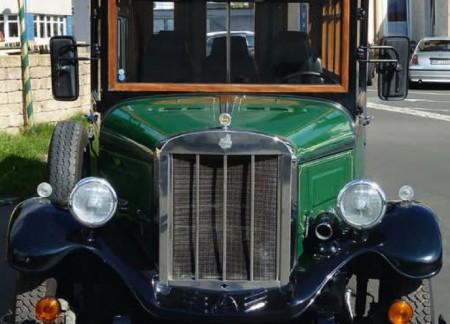 Werbefahrzeug - Hochzeitsauto - Oldtimer Vermietung - Wunsiedel, Marktredwitz, Selb
