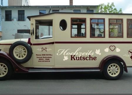 Hochzeitsauto - Werbeauto - Oldtimer Vermietung - Oberfranken / Fichtelgebirge