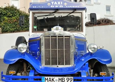 Hochzeitsauto - Werbeauto - Oldtimer Vermietung - Oberfranken